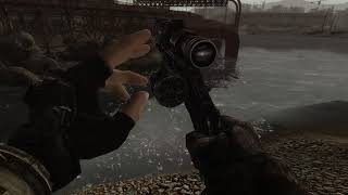 Scoped 44 Revolver Reload