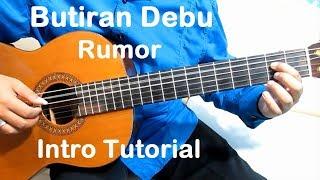 Belajar Gitar Rumor Butiran Debu (Intro)