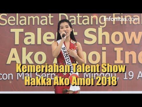 Kemeriahan Talent Show Hakka Ako Amoi 2018