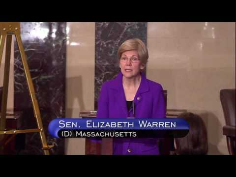 Senator Elizabeth Warren's floor speech on Trump's Muslim Ban