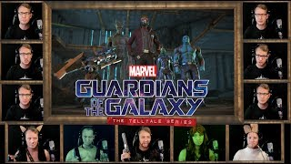 GUARDIANS OF THE GALAXY - Hooked on a Feeling Acapella - Blue Swede