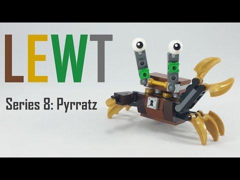 Vidéo LEGO Mixels 41568 : Lewt