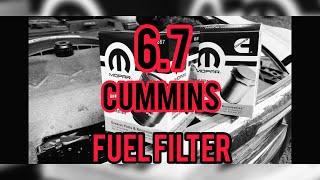 2017 Ram 6.7 Cummins Fuel Filter change (2013+)