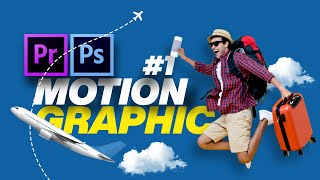 #1 Motion Graphic Or Social Media Animated Poster Design In Photoshop & Premiere Pro