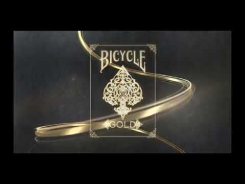 52b30a7be4 Bicycle Gold Deck by US Playing Cards at Dynamite Magic Shop - YouTube