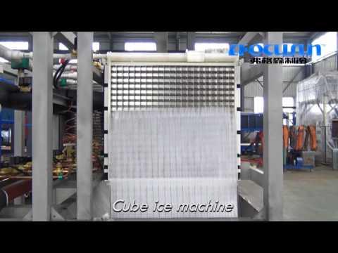 FOCUSUN máquina de hielo:1ton Cubo Hielo refrigeracion por aire mahchine, China