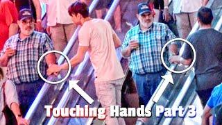 HAND TOUCHING ON ESCALATOR PRANK IN LAS VEGAS! | PART 3