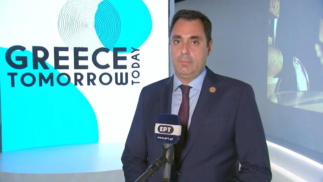 """Έκθεση """"EXPO 2020″στο Ντουμπάϊ: """"H Eλλάδα του αύριο- Σήμερα"""""""