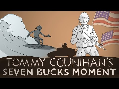 Seven Bucks Moment: US Army Veteran Tommy Counihan