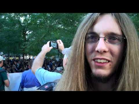 Occupy Wall Street Protester Hits the Nail on the Head: