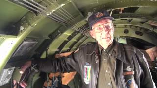 B-17 Vet takes step back in time.