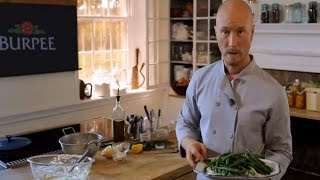 Chef Ian Knauer Recipe-Beans with Green Goddess Herb Sauce