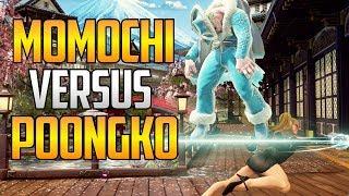 SFV AE ▰ Momochi Vs Poongko 【First To 3 Footsie Fest】