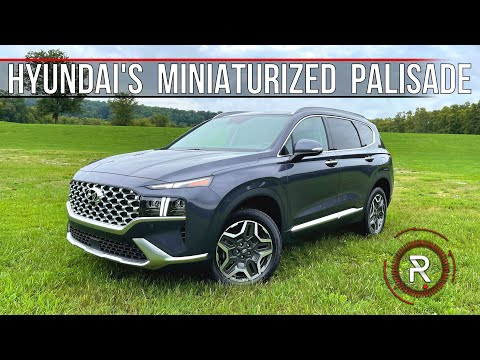 The 2021 Hyundai Santa Fe Calligraphy Is A Shrunken Palisade-Like Family SUV