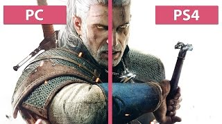 The Witcher 3: Wild Hunt – PC Ultra vs. PS4 Graphics Comparison Pre Day-One Patch [60fps][FullHD]