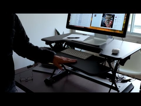 Sit Stand Hero Desk Review – I now stand more than I sit!