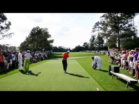 The Masters – Augusta National Golf Club – 2013 Monday Practice Round – Tiger Woods