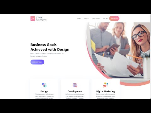 FREE Agency Website Templates - YouTube
