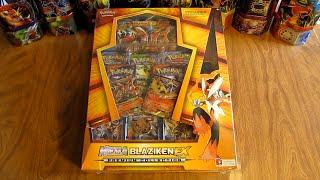 Mega Blaziken EX Premium Collection Box Opening