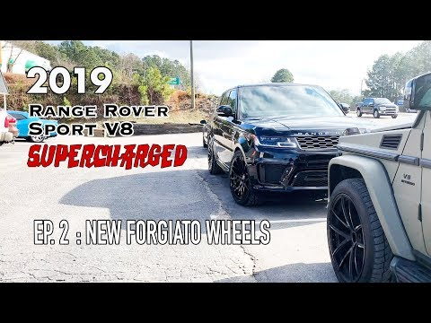 "These 22"" Forgiato Wheels where made for the 2019 Range Rover V8 SS"