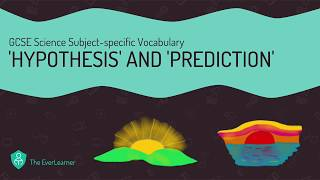 GCSE Science Subject-specific Vocabulary: 'Hypothesis' and 'Prediction'