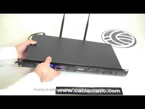 Micrófonos inalámbricos VHF con 2 micros 212-270 MHz rack distribuido por CABLEMATIC ®