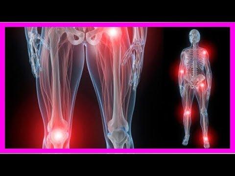 Rucken Schmerzen im Kniegelenk