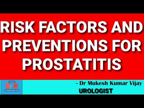 Krónikus prosztatitis kórokozók