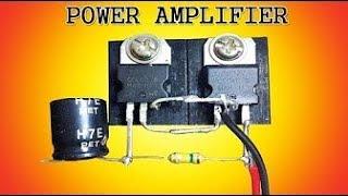 b772 transistor amplifier - Kênh video giải trí dành cho