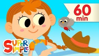The Farmer In The Dell   + More Nursery Rhymes and Kids Songs   Super Simple Songs