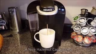 Keurig K50 Coffee Maker Unboxing & Initial Run