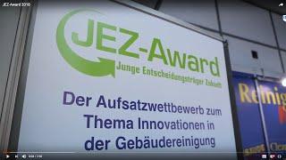 JEZ-Award-Verleihung auf der Interclean Amsterdam 2018