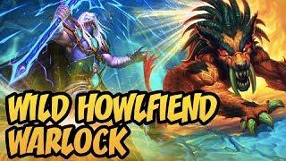 Hearthstone: Wild Howlfiend Warlock