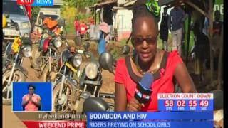 Heath Digest: Bodaboda riders prey on young school going girls spreading HIV in Kisumu