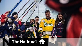 Humboldt Broncos' player's 'last home game' attracts thousands