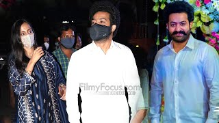 Jr NTR With His Wife Lakshmi Pranathi at Sukumar Daughter Event | #NTR #RRR |