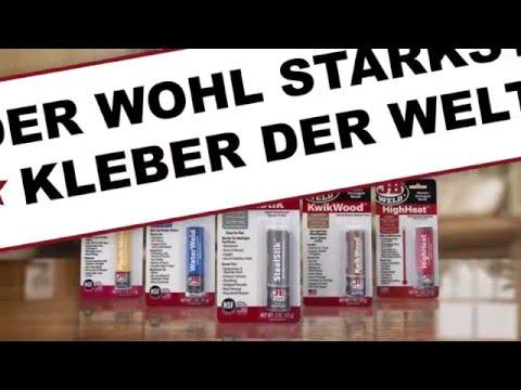 JB-Weld - die praktischen Epoxidharz-Kleber-Sticks