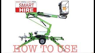 How to operated a Cherry Picker