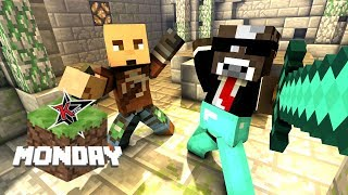 FIT AND RUSHER JOIN MINECRAFT MONDAY (Full Stream)