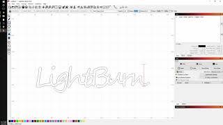 LightBurn Basics #2 - Text and offsetting