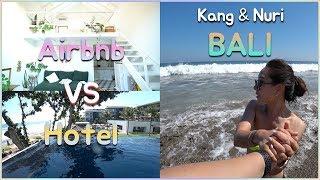 Apain Cari Hotel!!!  AIRBNB  Di BALI Cukup Keren!!! Suami&istri KOREA (Review Airbnb)