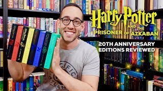 HARRY POTTER 20TH ANNIVERSARY HOUSE EDITIONS REVIEWED   PRISONER OF AZKABAN