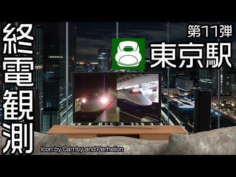 終電観測@東北・上越・長野新幹線東京駅