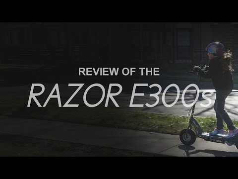 Razor e300s Electric Scooter - REVIEW & GH4 SLOW MOTION FOOTAGE