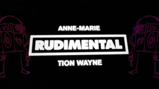Rudimental - Come Over (feat. Anne-Marie & Tion Wayne) [Official Lyric Video]