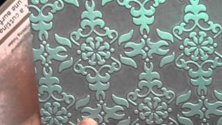 Brayer Inside Embossing Folder