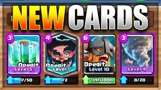 BIGGEST UPDATE LEAK EVER 4 NEW CARDS  NEW Clash Royale Update Possibility