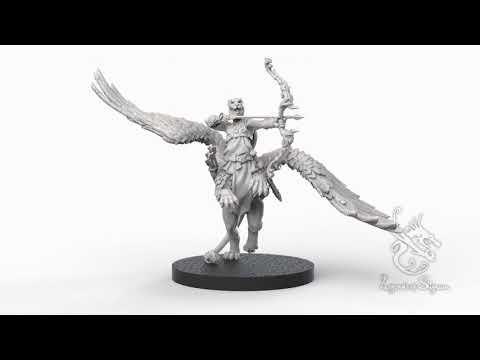 Celebrian the Dawn Archer 3D