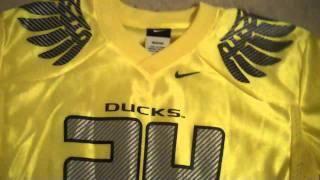 Yellow Oregon Ducks Jersey