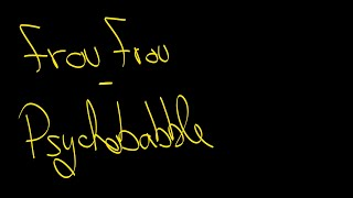 Frou Frou - Psychobabble (Lyrics)